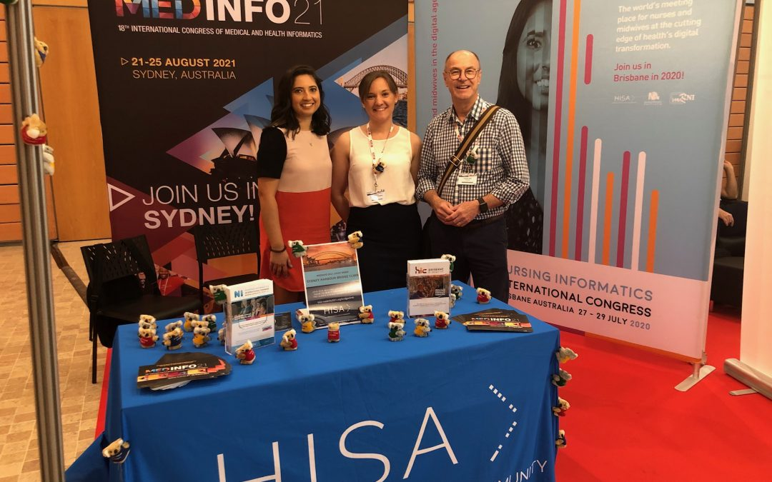 HISA at MedInfo 2019 in Lyon